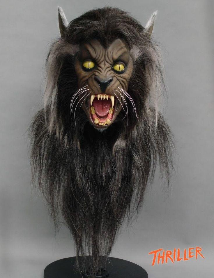 Michael Jackson Thriller Werewolf Mask thriller werewo...