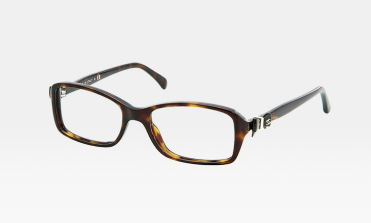 new specs possibility #3 / chanel 3211 (in brown) ... i love the bow!