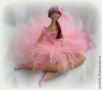 Человечки ручной работы. Ярмарка Мастеров - ручная работа Балерина Розовое Облако. Handmade.