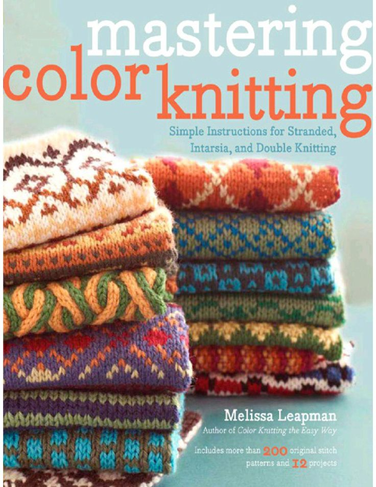 Mastering color knitting Vu
