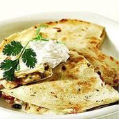 Wolfgang Puck: Cheese Quesadillas with Fresh Guacamole - Healthy Late-Night Snack Recipes from Celebrity Chefs - Shape Magazine ✭✭