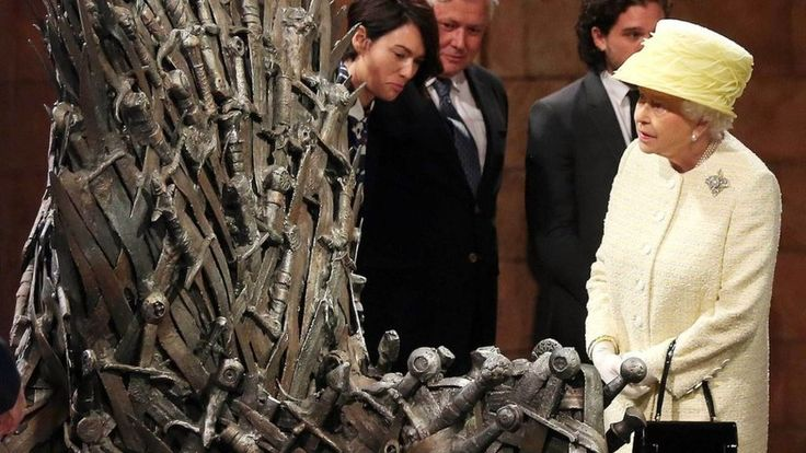 Who should inherit the Iron Throne, according to the laws that govern the British monarchy?