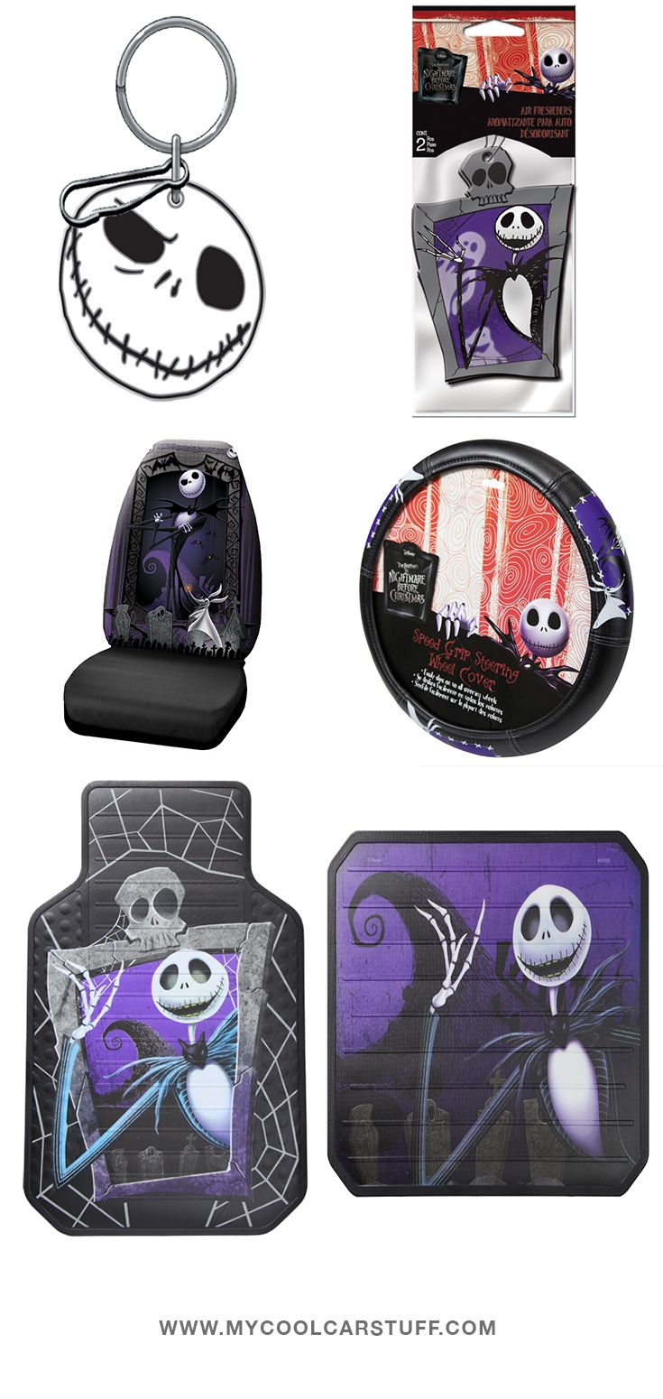 Nightmare Before Christmas Car Products From My Cool Car Stuff!