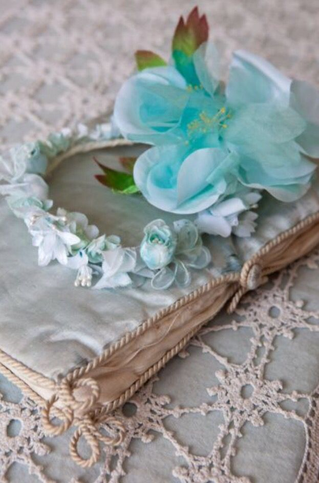 """This flowery decoration is from our feature """"Timeless Beauty"""""""