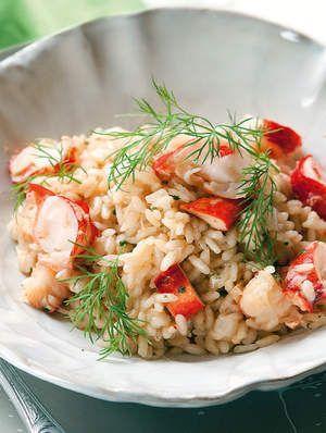 Risotto met kreeft - Culinair - Nina