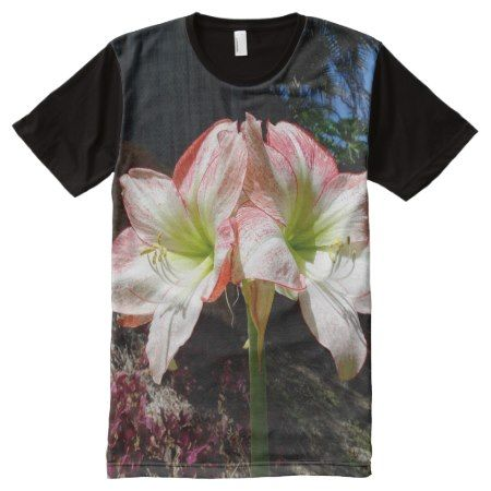 Hippeastrum bloom again All-Over-Print T-Shirt - click to get yours right now!
