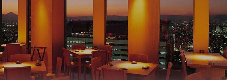 新宿野村ビル レストラン&ショップ|店舗案内|眺望レストラン|響