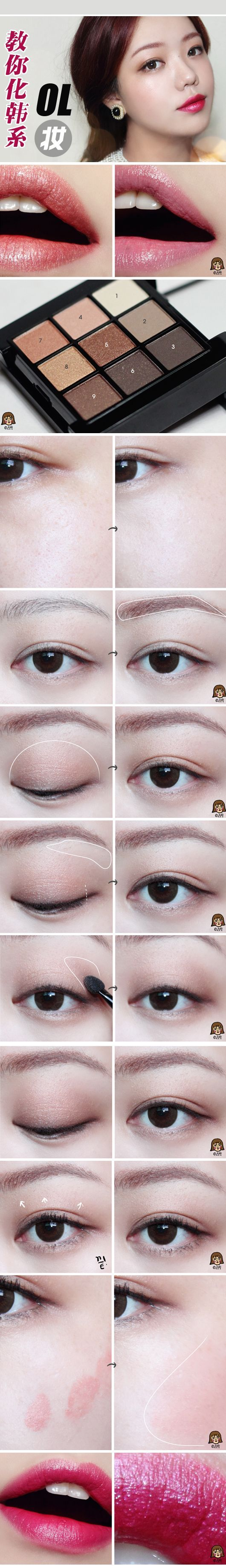 Dali Extra Size Brown circle lens favlens.com #Korea #makeup