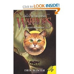 Warriors: Omen of the Stars #3: Night Whispers [Paperback], (cats, warriors, erin hunter, fantasy, clans, great books, addictive, cats - young adult fiction, surprising, cats - fiction)