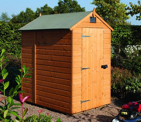 rowlinson 7ft x 5ft security shed ideal for an allotment garden sheds 6ft by 4ft - Garden Sheds 6ft By 4ft
