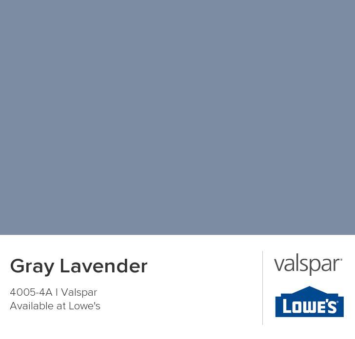 Gray Lavender from Valspar