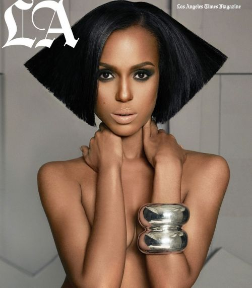 love the nude lip on her complexion: Beautiful Makeup, Straight Hair, Kerrywashington, The Angel, Brown Skin, Covers Pages, Kerry Washington, Magazines Covers, Time Magazines