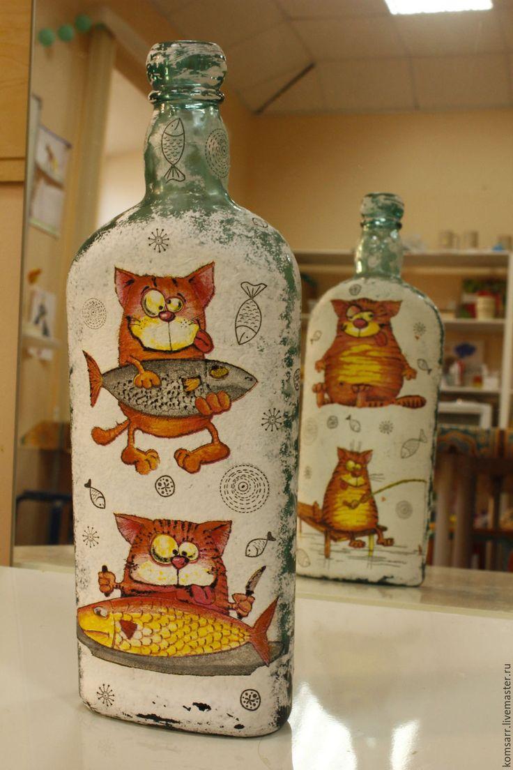 картинки рисунки на бутылках