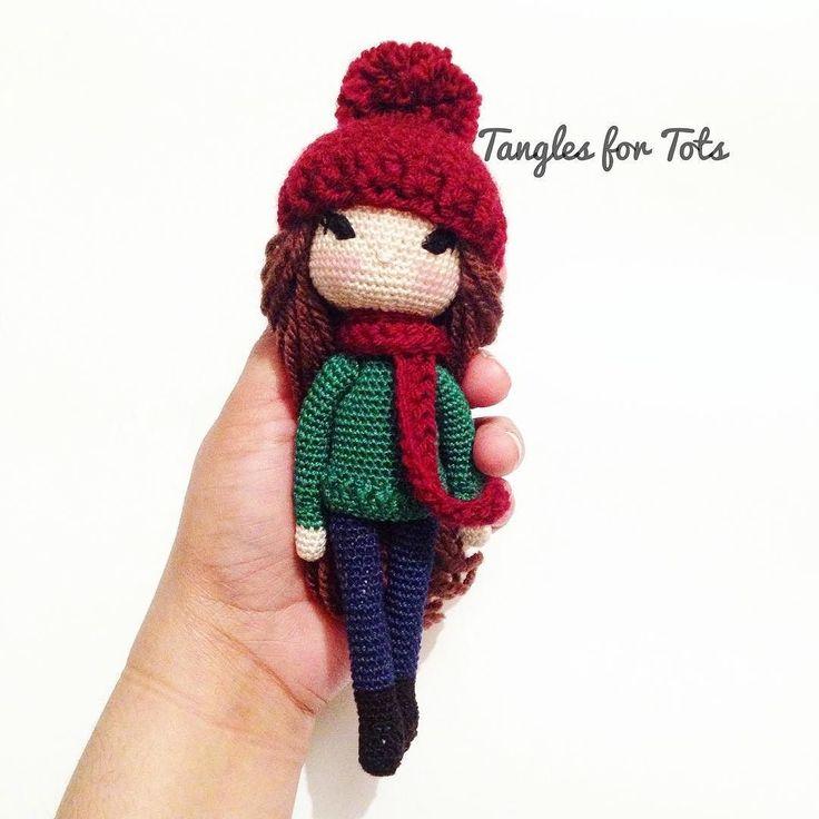 Another custom order complete! #crochet #crochetlove #crochetdoll #amigurumi #amigurumilove #cute #sew #stitch #yarn #hook #handmade #handicraft #microdoll #micro #miniature #Isabellekessedjian #kessedjian #doll #dollstagram #amigurumidoll #winter #boots #jumper #knitwear #beanie #pompom #scarf #dolls #makersgonnamake #knitting by tanglesfortots