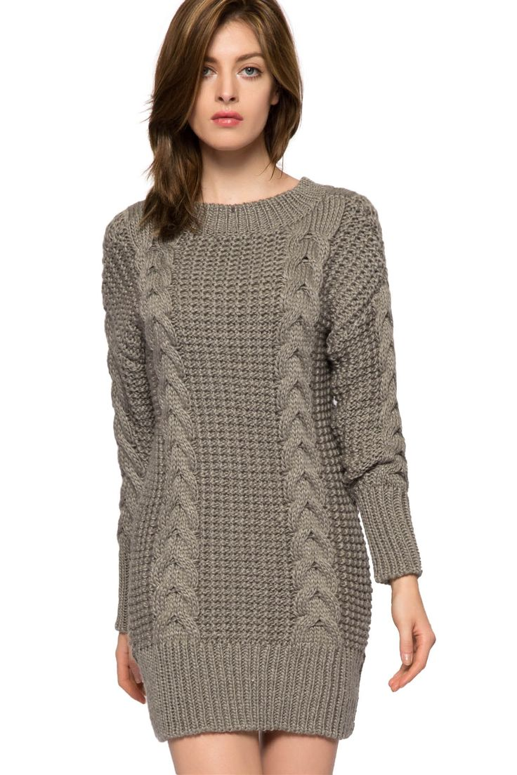 The 25  best Cable knit sweater dress ideas on Pinterest | Cable ...