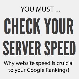 http://www.stealthimarketing.com/news/why-your-server-speed-could-be-hurting-your-web-rankings-and-conversions/  Site speed helps increase your conversions as your site should run fast. From our experience, Google loves sites that are relevant, up to date, create fresh content and load FAST!   http://www.stealthimarketing.com/news/why-your-server-speed-could-be-hurting-your-web-rankings-and-conversions/