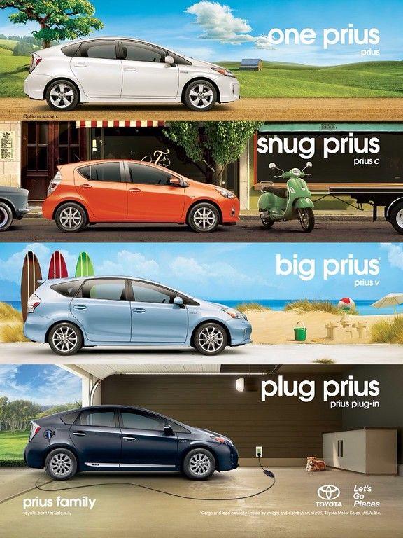 Toyota Prius Automoblie Advertising