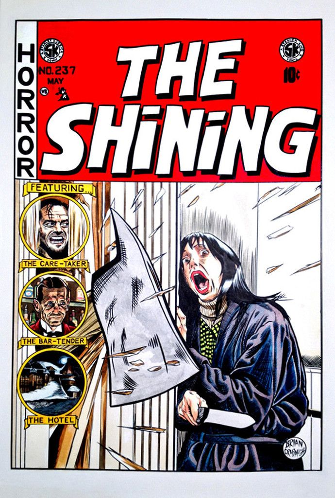 Graffiti the shining movie