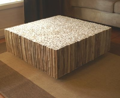 Table basse bois flott furniture ideas for Table basse bois flotte