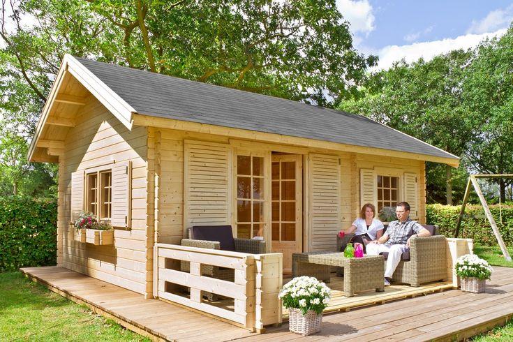 390 cm x 585 cm Gartenhaus Caroline Gartenhaus, Haus, Garten