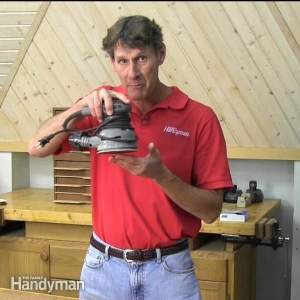 Ever wondered what the difference between a random orbital sander and an orbital sander?