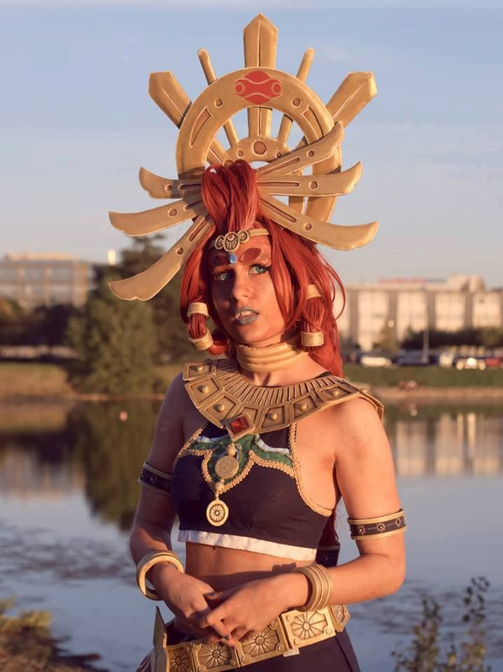 Riju breath of the wild cosplay