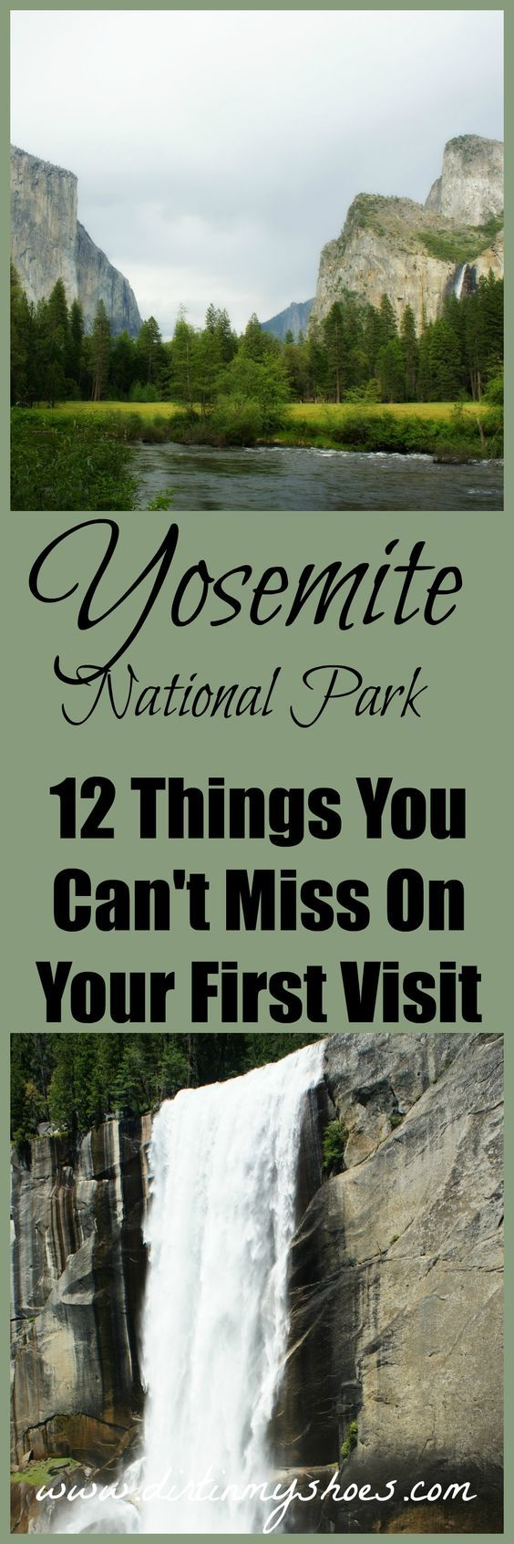 12 things you absolutely can't miss in Yosemite -- this list has it all!  Hikes, lakes, and viewpoints for every visitor to Yosemite National Park.  Don't travel without this list (written by a former park ranger)!