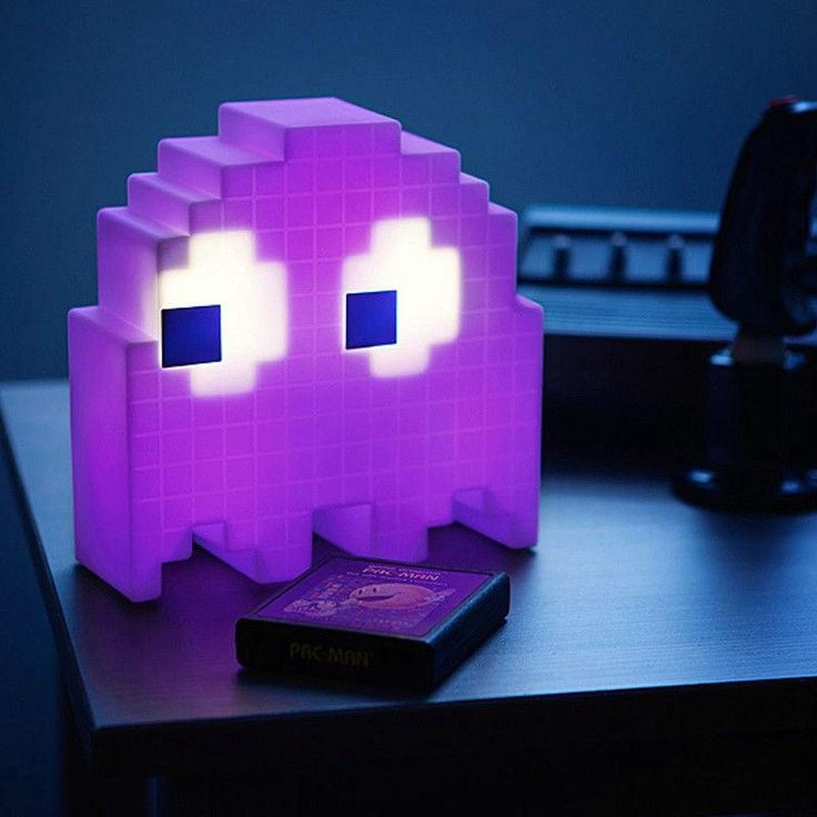Creative Ghost Cartoon USB Pac-man Game Theme Color Night Light
