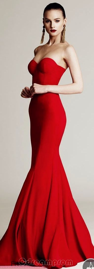 Red dress by magic 3d