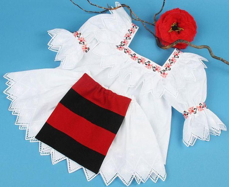 * Costumul este realizat din materiale naturale si este impodobit cu broderie sparta. Ie fetita 275 lei, Ie dama 395 lei., Fusta si fote 195 lei. La cerere, atat modelele broderiilor, cat si culori…