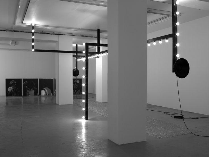 Black frame for lighting