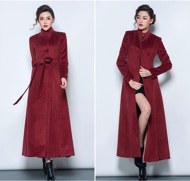 Long coats for dresses