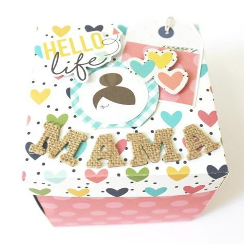 Mothers Day Gifts – Gift Ideas Anywhere Hello Life, Scrapbook, Ideas Para, Gifts For Mom, Crafts For Kids, Diy, Lettering, Birthday, Handmade Gifts