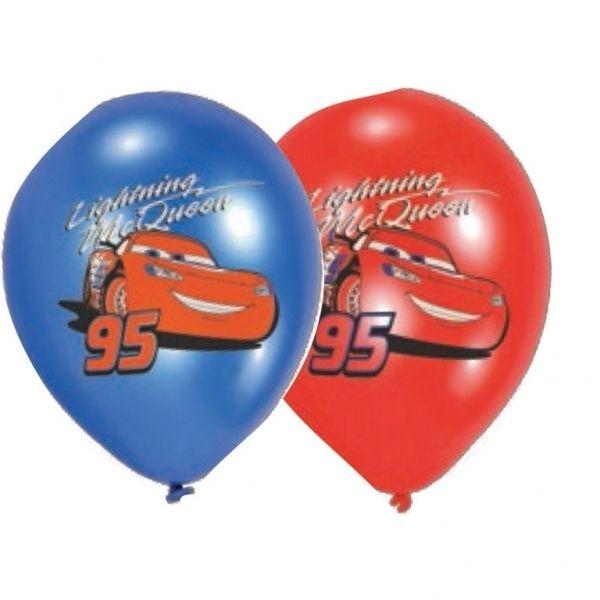 Disney Cars Lightning McQueen full color ballonnen ø 27,5 cm. 6 st.