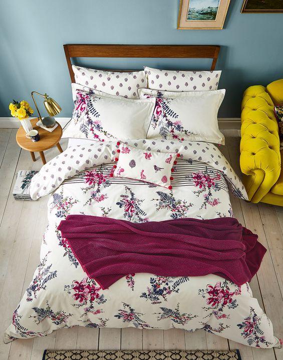 Harvest Garden Floral Duvet Cover Bed Duvet Covers Floral Floral Duvet Cover