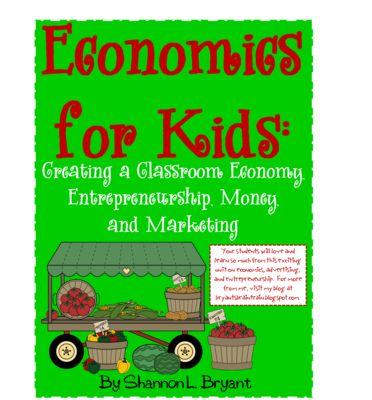 Creating+a+Classroom+Economy+(Economics,+Advertising,+&+Entrepreneurship)+from+Bryants+Brain+Train+on+TeachersNotebook.com+-++(178+pages)+