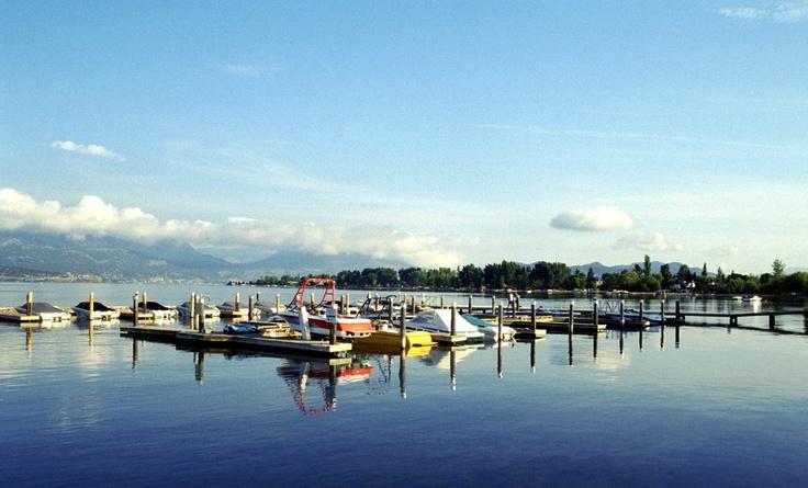 Boats in Okanagan lake - #Kelowna Real Estate. Visit www.OkanaganBC.com