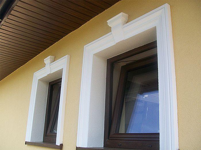 Listwy i zworniki elewacyjne - opaska okienna