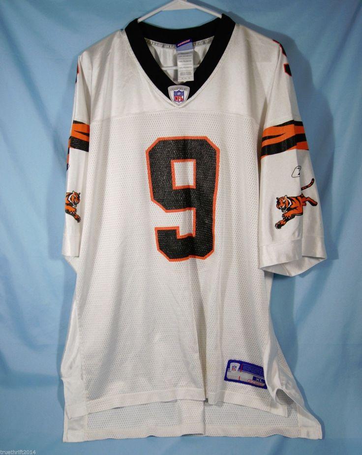 Cincinnati Bengals Carson Palmer 9 Jersey NFL Equipment Reebok XL | eBay