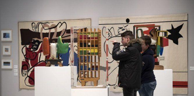 """Le monde entier connaît Le Corbusier architecte, mais qui connaît Le Corbusier peintre ? Le musée Soulages de Rodez présente à partir de samedi une face méconnue de l'artiste. """"Si..."""