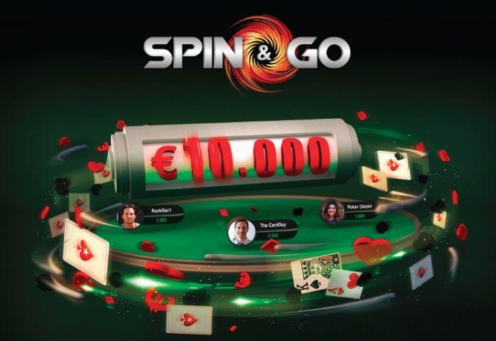 PokerStars увеличил максимальный приз в Spin&Go.  Лидер индустрии онлайн-покера PokerStars на годовщину с момента появления популярных среди игроков-любителей лотерейных турниров Spin&Go решил преподнести своим пользователямсюрприз, увеличив максимальный возможный призо