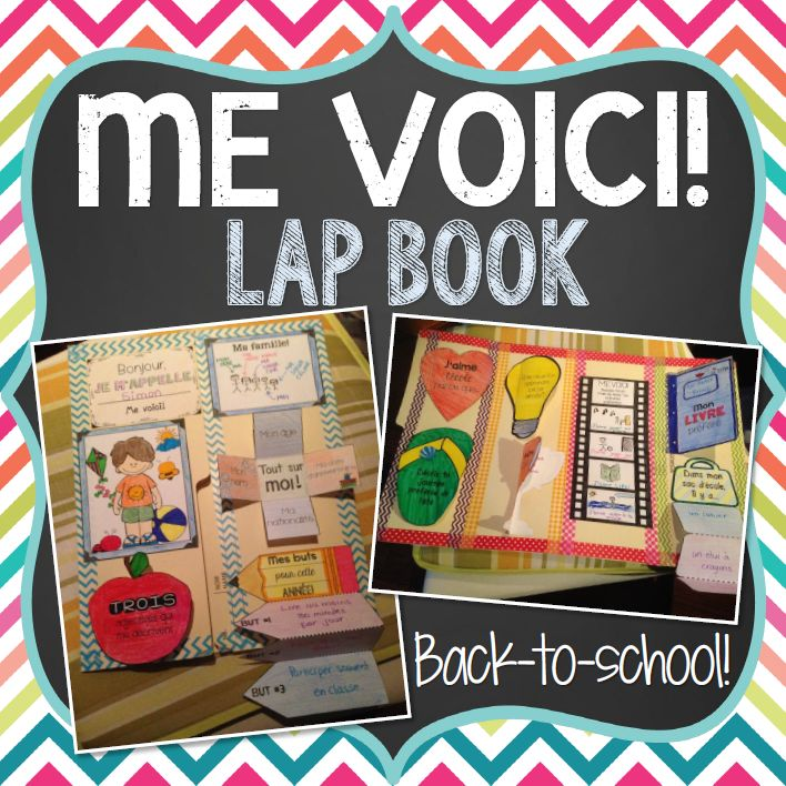 This file includes all the little pieces you need to make an ALL ABOUT ME/TOUT SUR MOI LAP BOOK in French. This is a great interactive and fun way for students to share information about themselves and introduce themselves to their class at the beginning of the year. The final result makes for a great display!