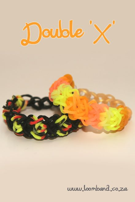 Double X loom band tutorial instructions and videos on hundreds of loom band designs. Shop online for all your looming supplies, delivery anywhere in SA.