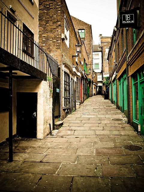 Hurt's Yard, Nottingham.