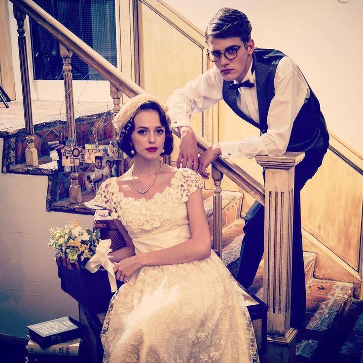 SWITCH SHOOTING PHOTO MAISON  PLAN ; PAIR PHOTO PLAN STYLING ; RETRO by SWITCH  #表参道 #フォトウェディング #貸スタジオ #写真 #イベント #ウェディング #前撮り #結婚式#ドレス #ウェディングドレス #ブーケ  #お洒落 #デザイン #スウィッチ #原宿 #weddingphoto #weddings #weddingday #プレ花嫁 #プレ花嫁卒業  #switch  #followback #l4l #tagforlikes by switch.omotesando