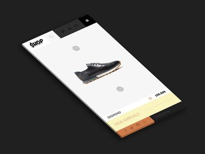 Iphone ecommerce template