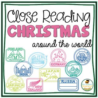 Free Christmas Around the World Reading Comprehension Passage   Help your students become more confident readers with this fun and interactive passage a free sample from my Christmas Around the World packet. Students will build stamina and fluency while finding text evidence making inferences and learning about Christmas in Finland.  Get the free download HERE!  3-4 Christmas activities Christmas Around The World Close Reading Mrs. Thompson's Treasures reading comprehension text evidence
