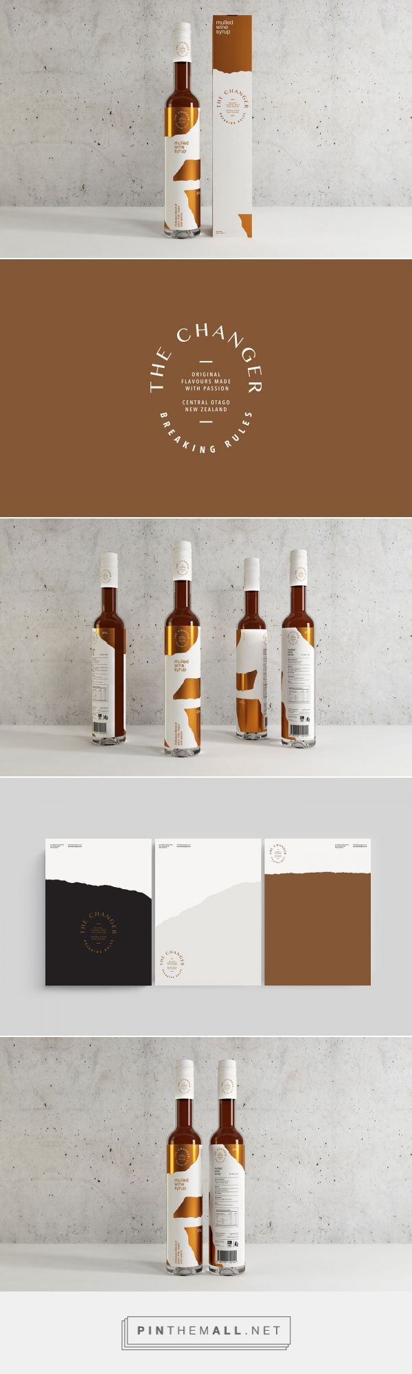 The Changer Mulled Wine Syrup Packaging by Makebardo | Fivestar Branding Agency – Design and Branding Agency & Curated Inspiration Gallery