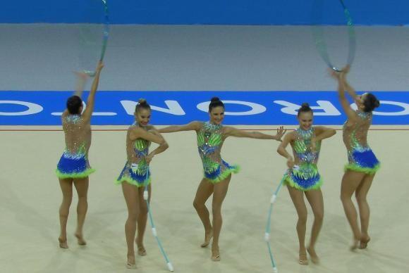 #Ginástica rítmica conquista mais uma medalha de ouro para o #Brasil