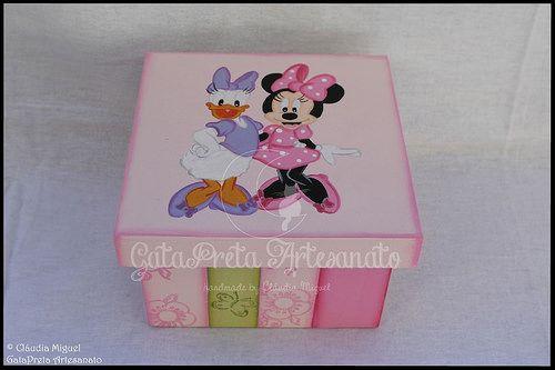 """Caixa de recordações de bebé e candeeiro """"Best Friends"""""""